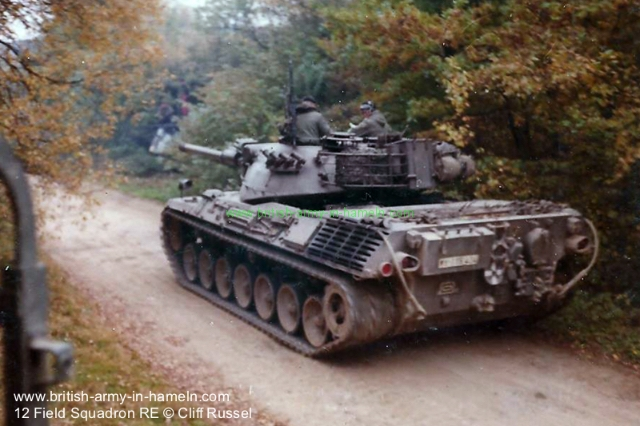 1973-12th-field-squadron-009-german-leopard-1-by-cliff-russel