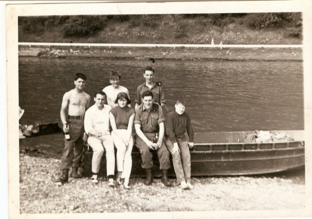 Tony Smith back left, ??, then Keith Summerscales.Dave Smith 2nd right front.