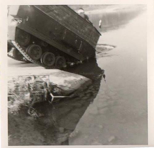 Floating FV432 -5th Field Squadron RE by Hank Lawrence / Rogaer Mayes