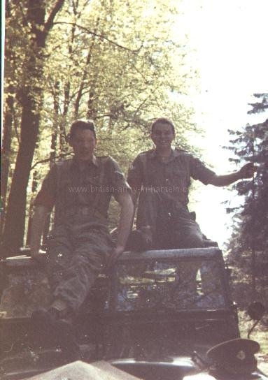 alan-ventress-and-ian-ambrose-on-exercise-in-germany-1968