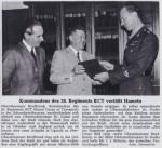 19.09.1970 Kommandeur des 26 Regiments verabschiedet sich