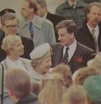 1993/11/05 – Bericht über den Besuch der Queen