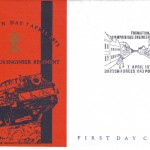 7.04.1971 – Formation Day 28 Amphibious Engineer Regiment – First Day Cover