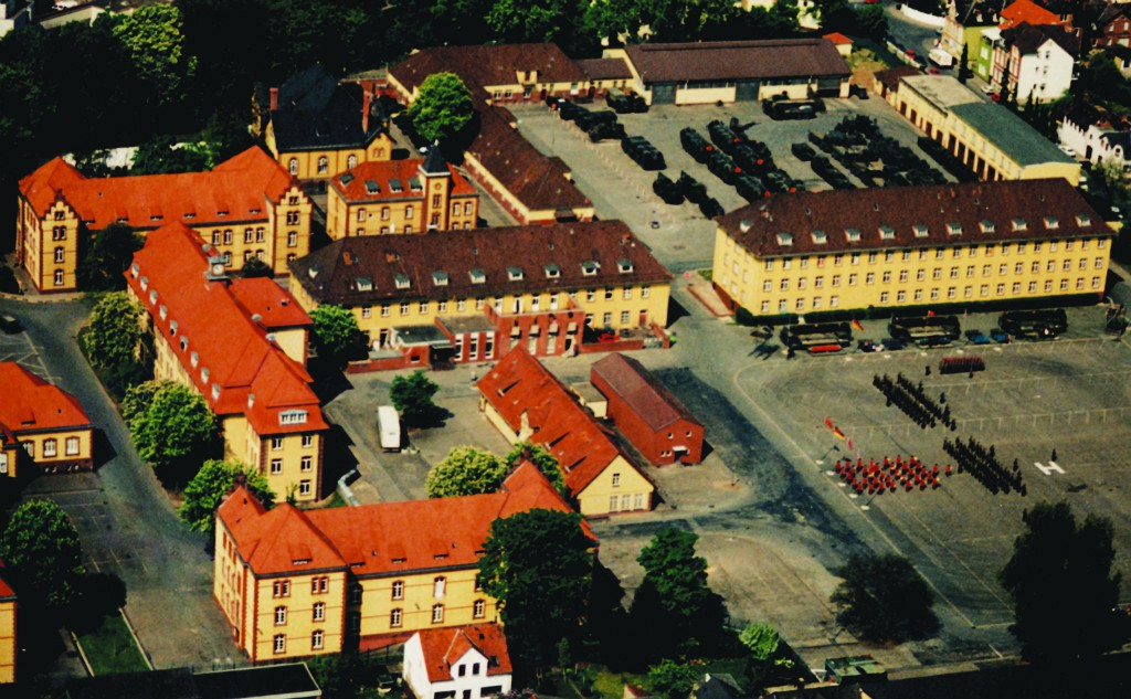 Overview Bindon Barracks Hameln (c) 28 Engr Regt