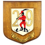 29 Field Squadron RE – Wall Plaque