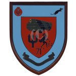 71 Amph Engr Sp Sqn – Wall Plaque