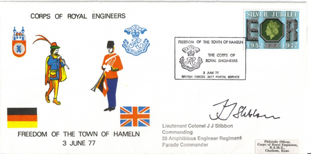 03.06.1977 Freedom of the town - First Day Cover front