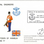 1977/06/03 – Freedom of the Town – First Day Cover