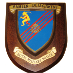 Hameln Detachment – Royal Military Police – Wall Plaque