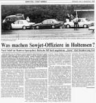 1986/09/03 – Was machen Sowjet-Offiziere in Holtensen…….