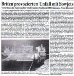 1986/09/04 – Briten provozierten Unfall mit den Sowjets….