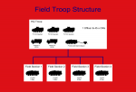 Field Troop Organisation