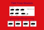 Field Troop Organisation