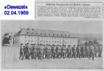 1969/04/02 – HQ 11th Engineer Brigade disbanded – Britisches Hauptquartier hat Hameln verlassen