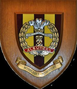 Middlesex-Regiment-regimental-mess-wall-plaque-crest-shield-_57
