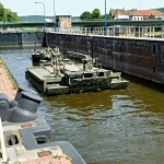 2014/05/22 – M3 Fähren in der Weserschleuse – M3 Rigs in the Weser Sluice!