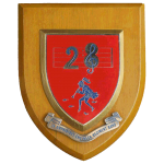 Band of the 28 Amphibious Engineer Regiment – Wall Plaque