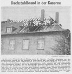 1965/03/09 – Fire in the roof of Gordon Barracks – Feuer in den Gordon Barracks