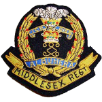 "1961 – 1st Bn The Middlesex Regiment – ""B""-Coy"