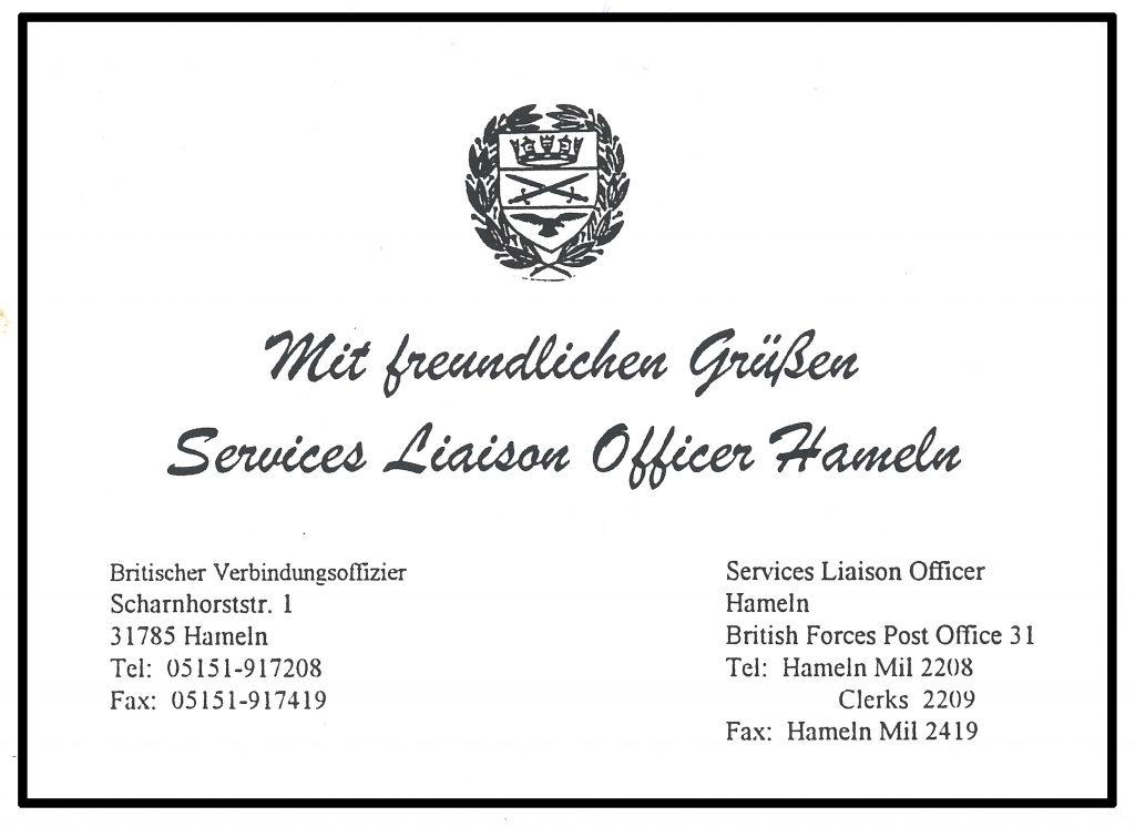 ServicesLiasonOfficerHameln_GreetingCard
