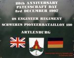 1997 / 12 / 03 – Partnership 97 – 20th anniversary 28 Engineer Regiment and sPioBtl.130