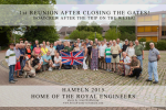 2015/07/18 – 1st Reunion after closing the Gates – Boattrip on the Weser!